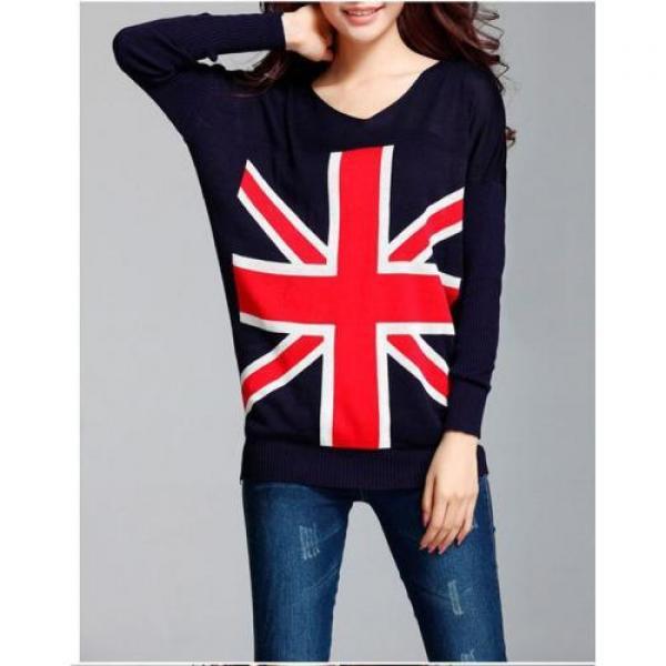 Пуловер флаг Великобритании (туника), фото 1