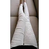 Кружевные женские брюки
