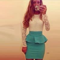 Стильное платье баска, фото 1