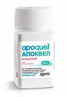 Апоквель для собак при дерматитах различной этиологии, сопровождающихся зудом, 3,6 мг*100 табл.