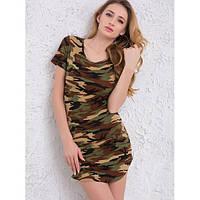 Женское платье камуфляж, фото 1
