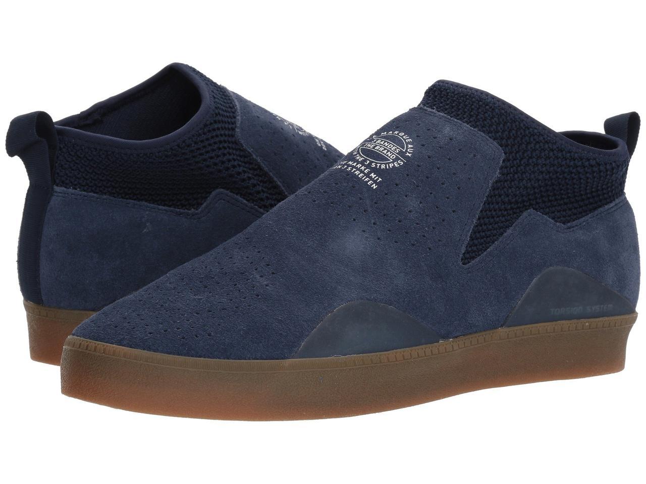 Кроссовки Кеды (Оригинал) adidas Skateboarding 3ST.002 Collegiate  Navy Footwear White b908919d95348