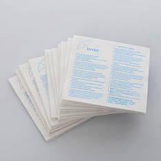 Ремкомплект Intex 10204, самоклеющиеся заплатки, 1 шт.