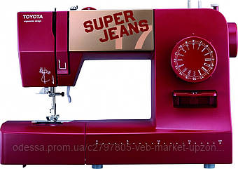 Швейная машинка электромеханическая TOYOTA Super Jeans 17R