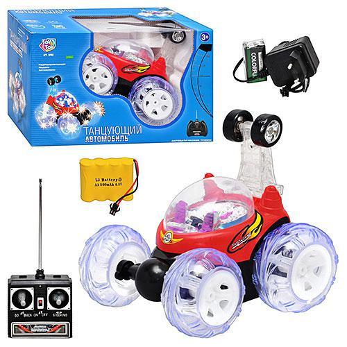 Машина JT 9293-9294 трюкова, музика, світло, радіокерування, акумулятори, в коробці, 29 см