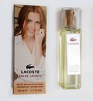 Мини-парфюм Lacoste eau de lacoste pour femme (Лакост еу де лакост пур фемме) 50 мл.