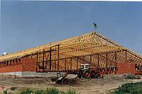 Проектирование большепролетных деревянных ферм в MiTeK (США)