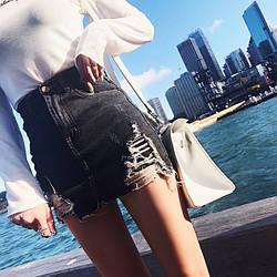 Шорты юбки женские джинсовые