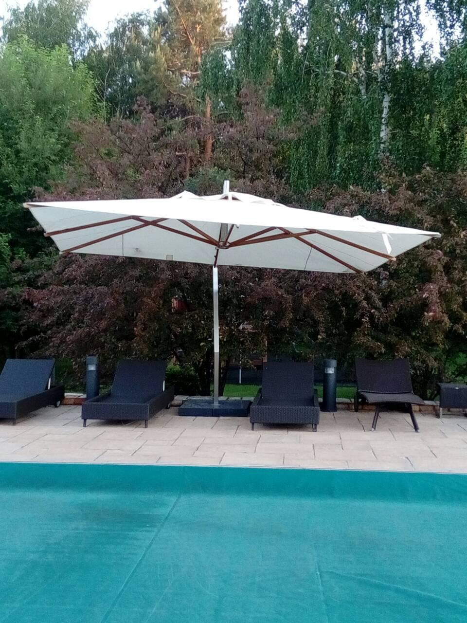 Тент зонт 3м х 3м.