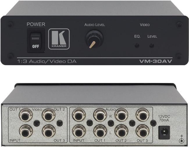 Підсилювач-розподільник Kramer Electronics VM-30AV