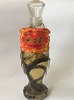 Водка со змеёй Фенгун, водка со змеей настойка с женьшенем