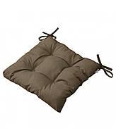 Подушка на стул Brown 40х40 см, фото 1