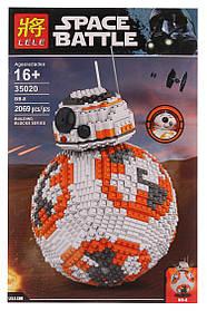 Конструктор Дроид Би-Би 8 Lele 35020 . Звездные войны BB-8 (аналог Lego Star Wars 75187)