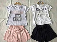Красивый и модный комплект для девочки ост 110/120 см