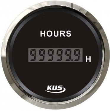 Лічильник мотогодин Wema (Kus) чорний Китай KY39000