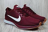 Бордовые мужские кроссовки в стиле Nike Free Run (найк фри ран), фото 3