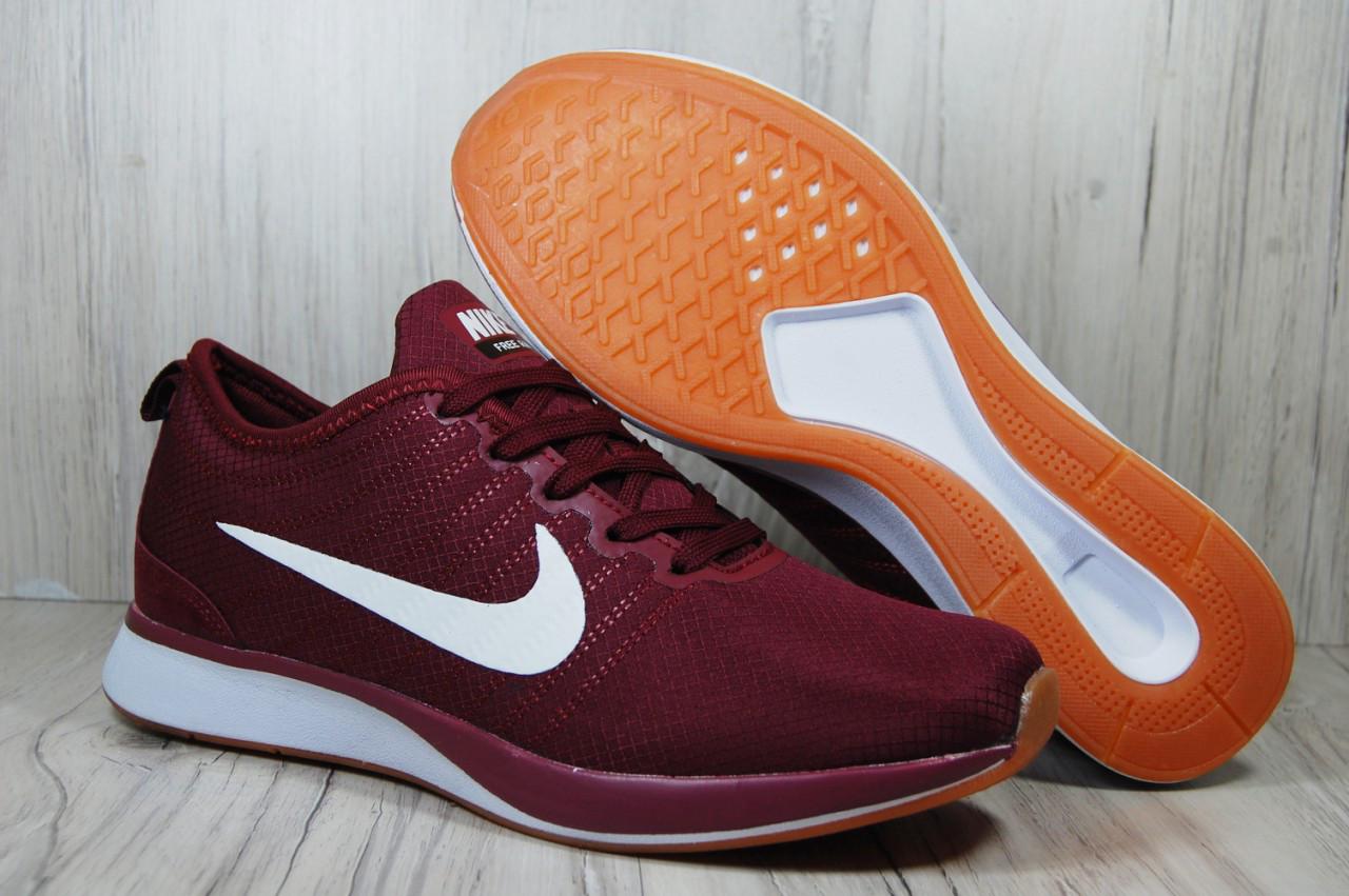 Бордовые мужские кроссовки в стиле Nike Free Run (найк фри ран)