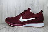 Бордовые мужские кроссовки в стиле Nike Free Run (найк фри ран), фото 5