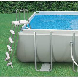 Лестница для приподнятых бассейнов Intex высотой 132 см(б/у)