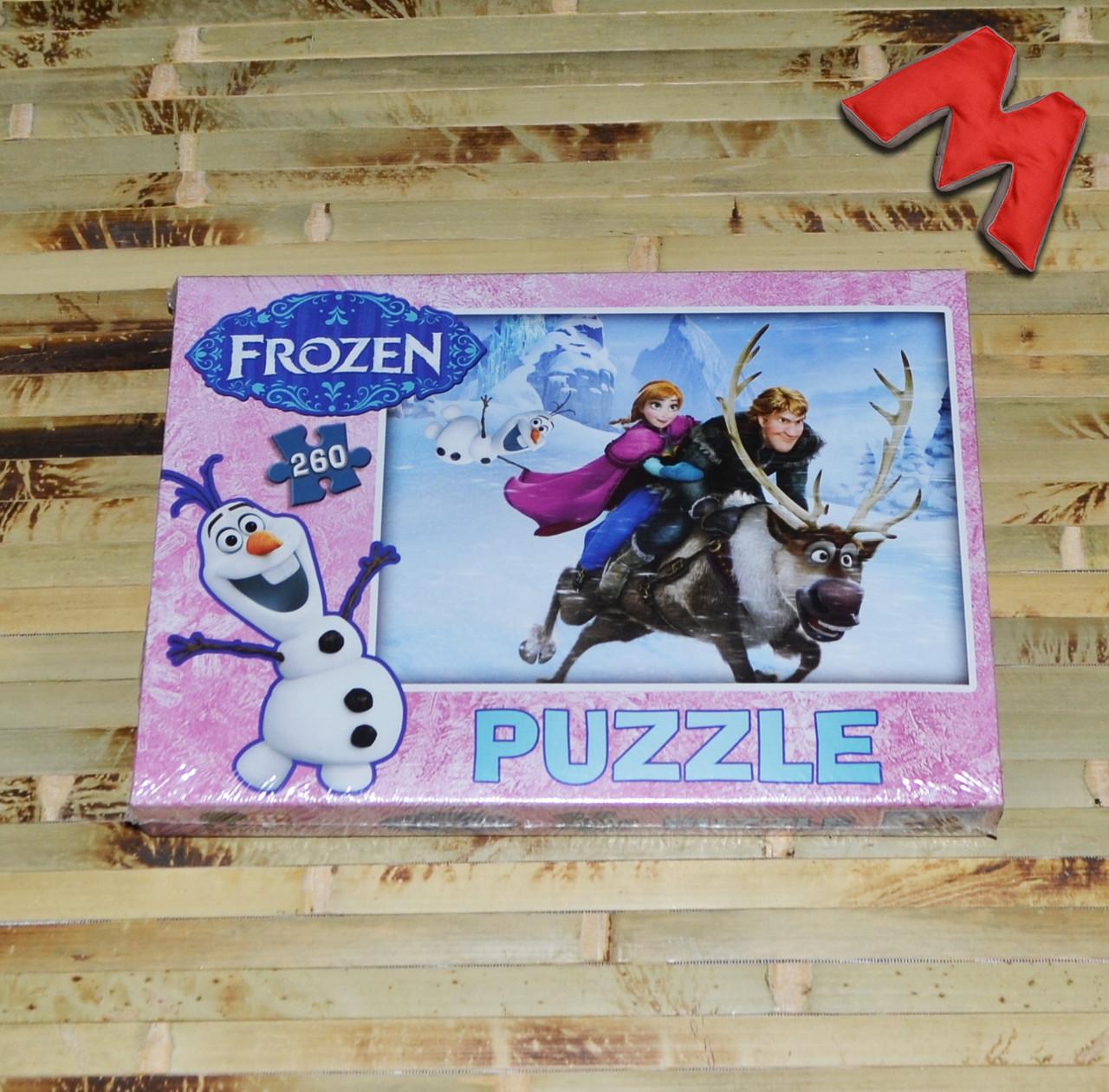 """Пазлы """"Frozen"""" 260 эл."""