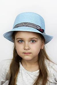 Шляпа детская Ферб голубая