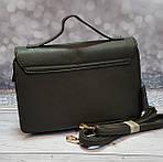 Серая сумка портфель с ручкой, фото 3