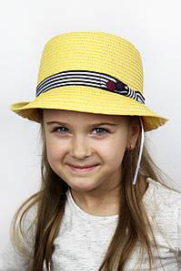 Шляпа детская Ферб желтая