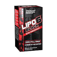 Nutrex Жиросжигатель Липо 6 блек Lipo 6 black Ultra Concentrate (60 black-caps)