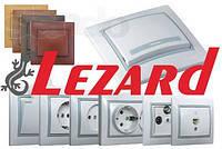 Розетки и выключатели LEZARD (Турция)