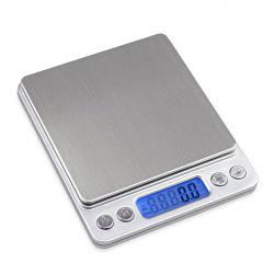 Электронные весы ювелирные с 2-мя чашами 0,1-3000г UKC Grey