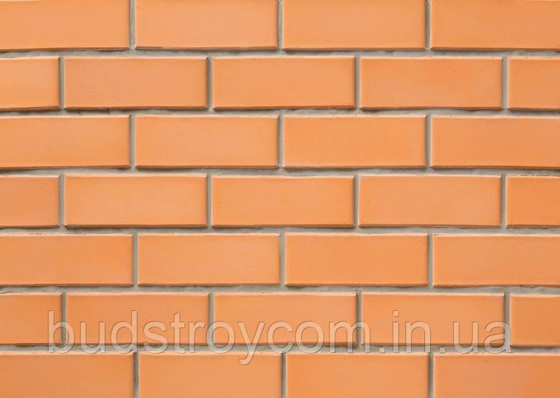 Кирпич лицевой СБК желтый персиковый