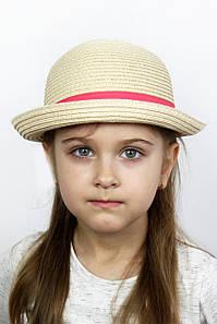 Шляпа детская Дори капучиновая