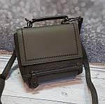 Серая женская сумочка, фото 2