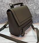 Серая женская сумочка, фото 3