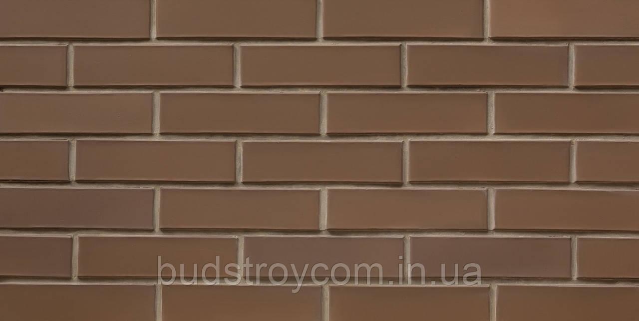 Кирпич лицевой СБК коричневый какао