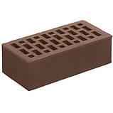 Кирпич лицевой СБК коричневый какао, фото 2