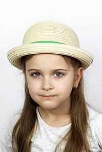 Шляпа детская Дори зеленая