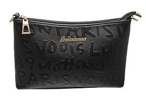 Модный женский клатч -сумочка 1043 (черный)