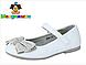 Туфли детские, для девочки белые нарядные , фото 2