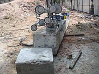 Резка железобетонных конструкций канатной пилой