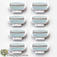 Сменные кассеты gillette venus женские для бритья лезвия запаски картридж лезвие