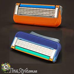 Сменные кассеты для бритья лезвия gillette fusion (Power) запаски картридж лезвие