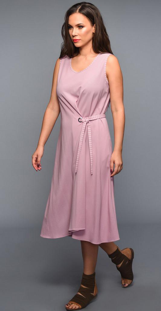 Платье TEFFI style-1334 белорусский трикотаж, розовый, 44