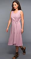 Платье TEFFI style-1334 белорусский трикотаж, розовый, 44, фото 1