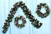 Новогодняя гирлянда Морозко