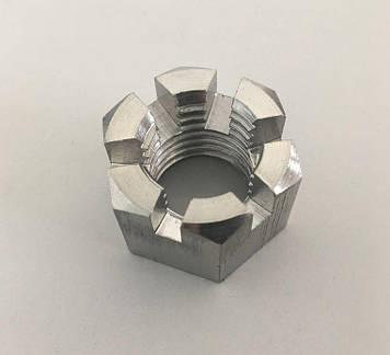 Гайка корончатая М8 ГОСТ 5918-70, DIN 935 из нержавеющей стали А2 и А4, фото 2