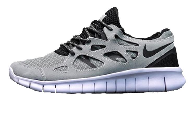 cf704fea Мужские кроссовки Nike Free Run 2 Silver (Реплика ААА+) - Rocket Shoes -