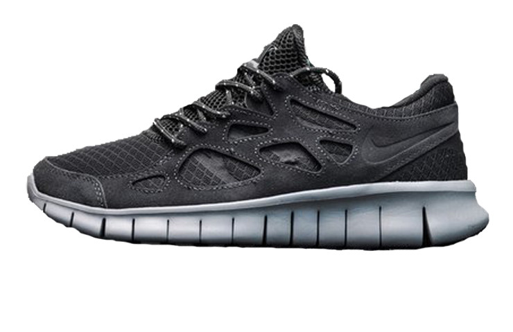 2b26f0f1 Мужские кроссовки Nike Free Run 2 Dark Gray (Реплика ААА+) - Rocket Shoes