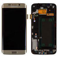 Дисплей для мобильного телефона Samsung G925F Galaxy S6 EDGE, золотист