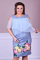 Восхитительное женское  платье в размерах 50-56, фото 1
